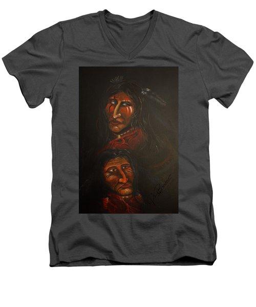 Suspicion Men's V-Neck T-Shirt