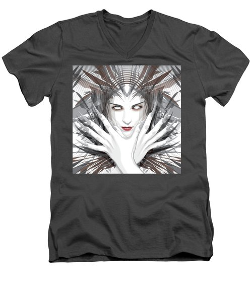 Talons Men's V-Neck T-Shirt