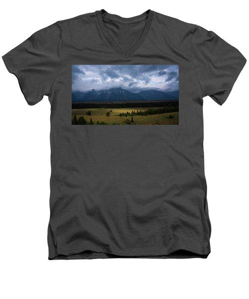 Teton Park Men's V-Neck T-Shirt