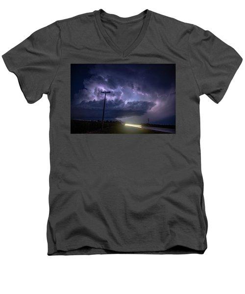 The Best Supercell Of The Summer 043 Men's V-Neck T-Shirt