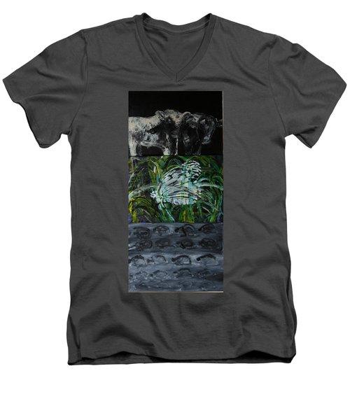 The Big Squeeze Men's V-Neck T-Shirt