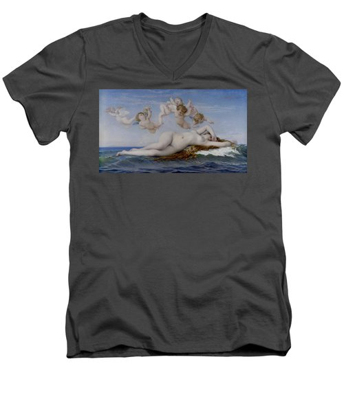 The Birth Of Venus Men's V-Neck T-Shirt