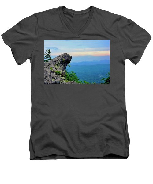 The Blowing Rock Men's V-Neck T-Shirt