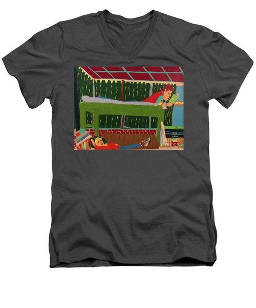 The Bunk Men's V-Neck T-Shirt