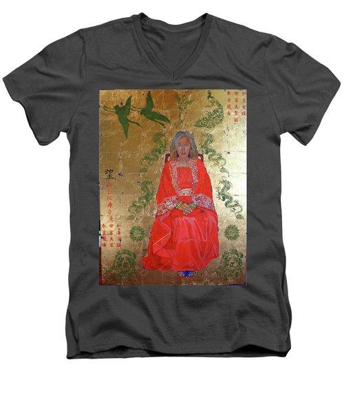 The Chinese Empress Men's V-Neck T-Shirt