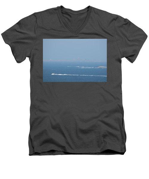 The Coast Guard's Rib Men's V-Neck T-Shirt