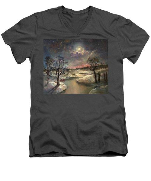 The Constellation Orion Men's V-Neck T-Shirt