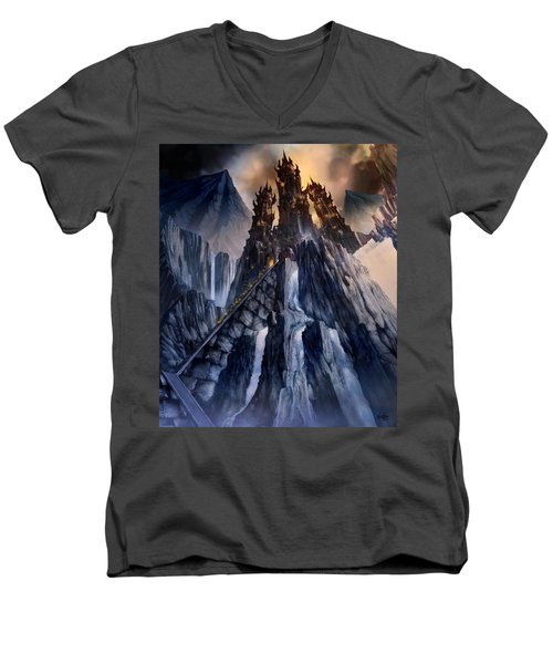 The Dragon Gate Men's V-Neck T-Shirt