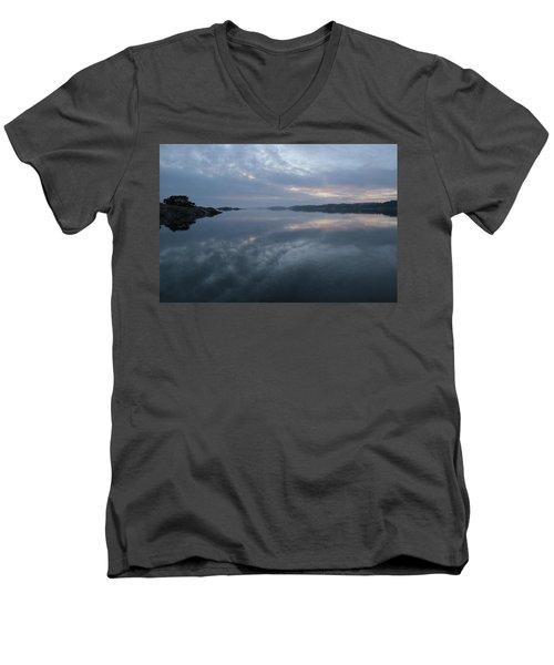 The Fog Lightens Men's V-Neck T-Shirt