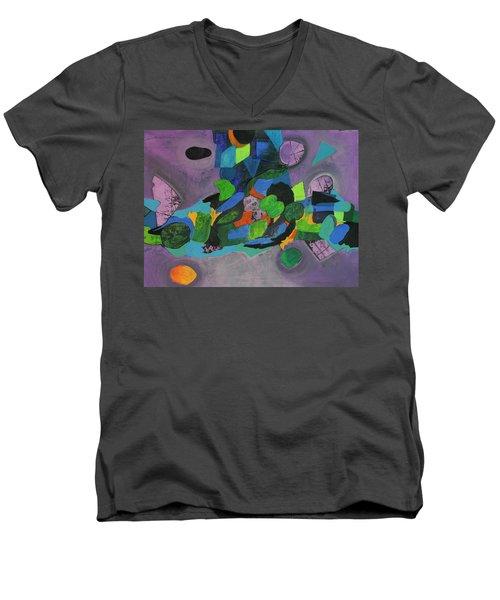 The Force Of Nature Men's V-Neck T-Shirt