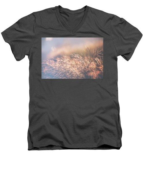 The Golden Morning 3 Men's V-Neck T-Shirt