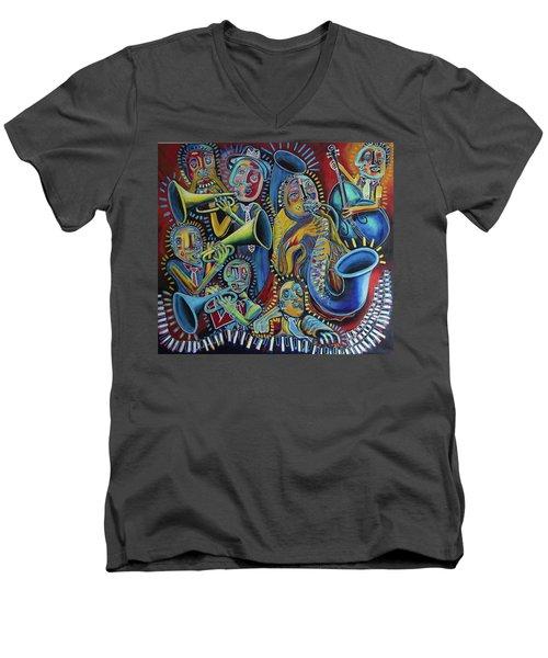 The Groove Men's V-Neck T-Shirt