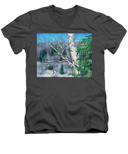 The Hangout Men's V-Neck T-Shirt