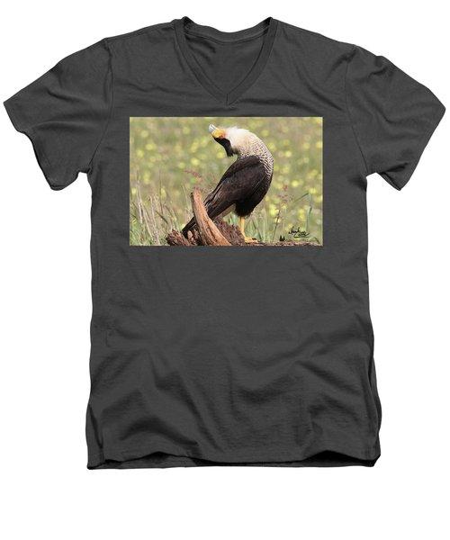 The Head Throw Men's V-Neck T-Shirt