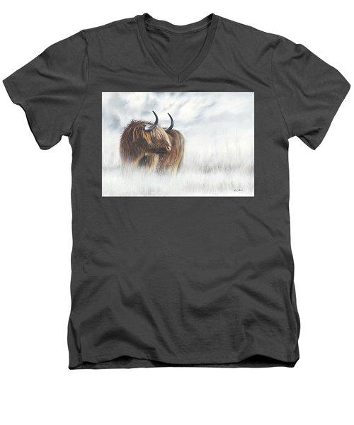 The Highlander Men's V-Neck T-Shirt