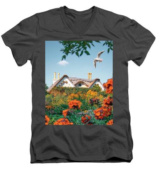 The Hobbit House Men's V-Neck T-Shirt