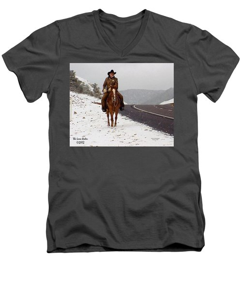 The Lone Ranger Men's V-Neck T-Shirt