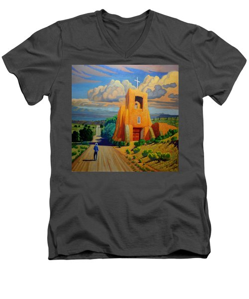 The Long Road To Santa Fe Men's V-Neck T-Shirt