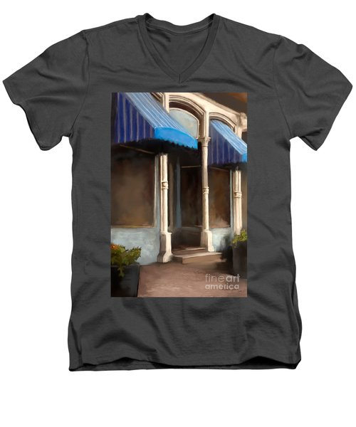 The M Cafe Men's V-Neck T-Shirt
