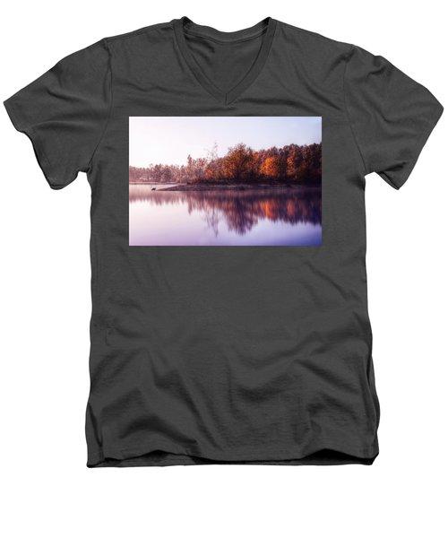 The Nature Men's V-Neck T-Shirt