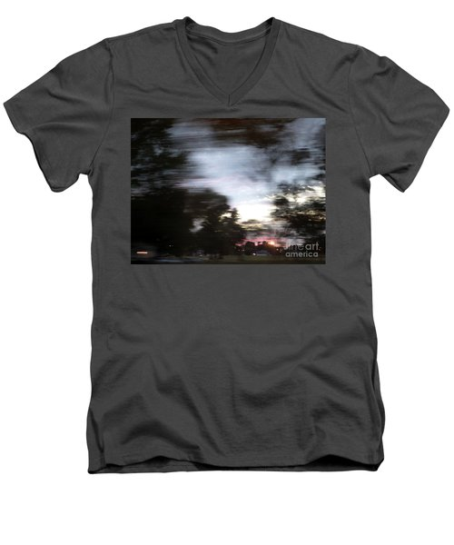 The Passenger 01 Men's V-Neck T-Shirt