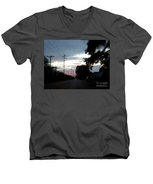 The Passenger 02 Men's V-Neck T-Shirt