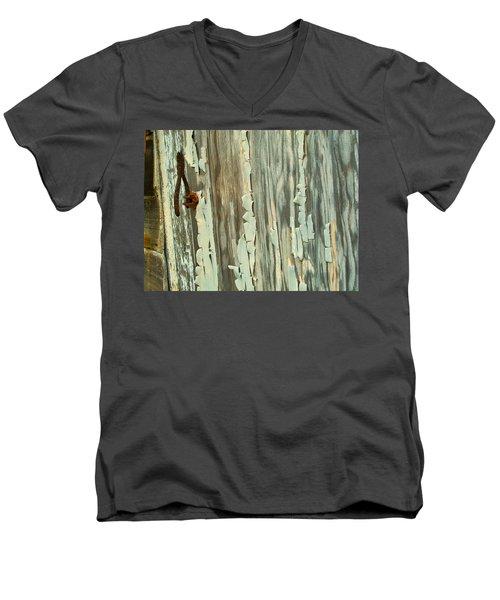 The Peeling Wall Men's V-Neck T-Shirt