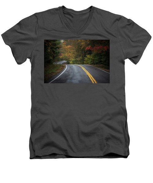 The Road To Friends Lake Men's V-Neck T-Shirt