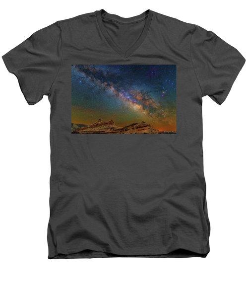 The Rock Men's V-Neck T-Shirt