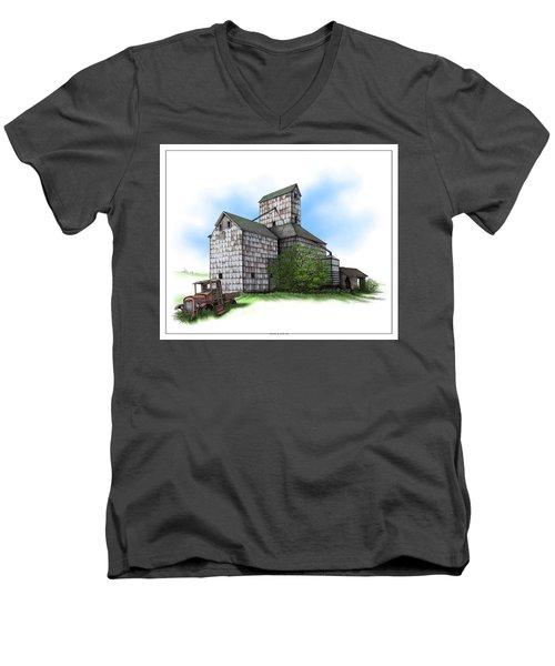 The Ross Elevator Summer Men's V-Neck T-Shirt