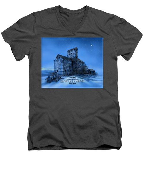 The Ross Elevator Version 3 Men's V-Neck T-Shirt