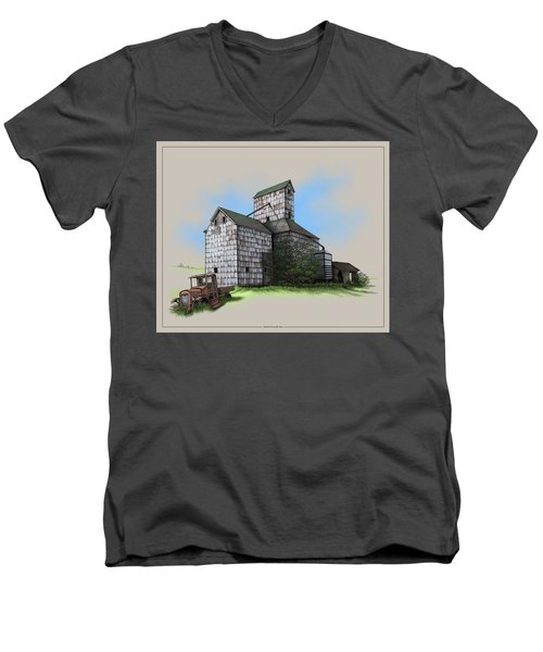 The Ross Elevator Version 5 Men's V-Neck T-Shirt