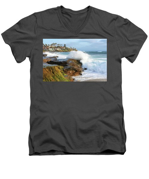 The Sea Was Angry That Day My Friends Men's V-Neck T-Shirt