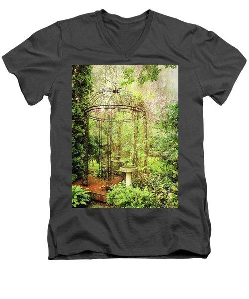 The Secret Garden Men's V-Neck T-Shirt