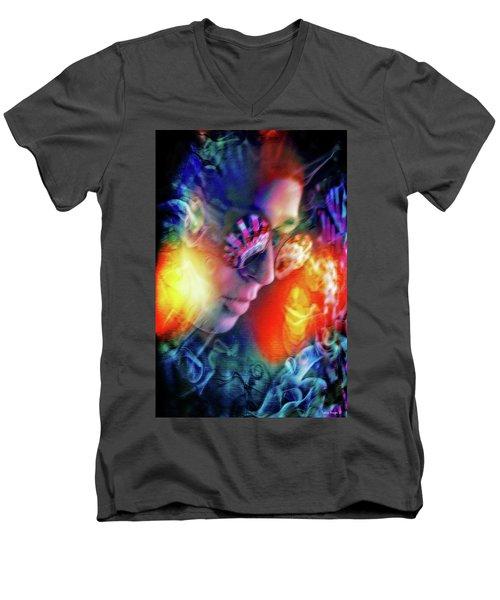 The Secret Inside  Men's V-Neck T-Shirt