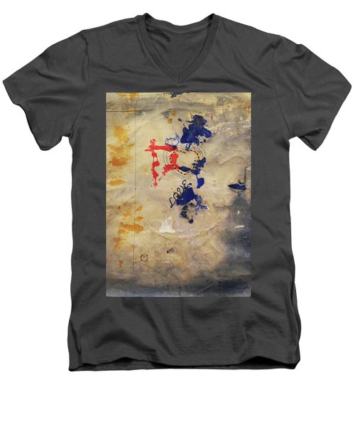 The Shadows Of Love Men's V-Neck T-Shirt