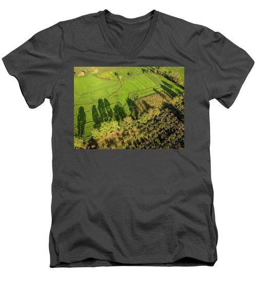 The Shadows  Men's V-Neck T-Shirt