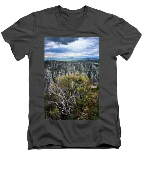 The Sights Of The Sil Men's V-Neck T-Shirt