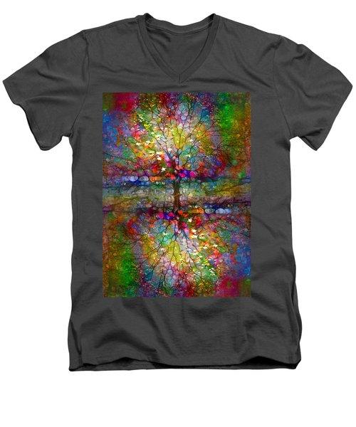 The Souls Of Leaves Men's V-Neck T-Shirt