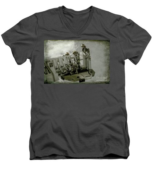 The Southside 3 Men's V-Neck T-Shirt