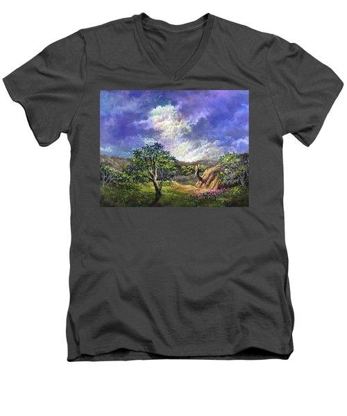 The Sustaining Celestial Men's V-Neck T-Shirt