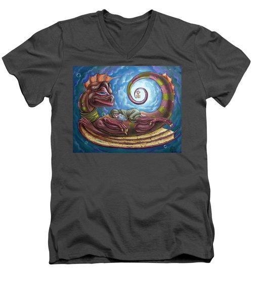 The Third Dream Of A Celestial Dragon Men's V-Neck T-Shirt