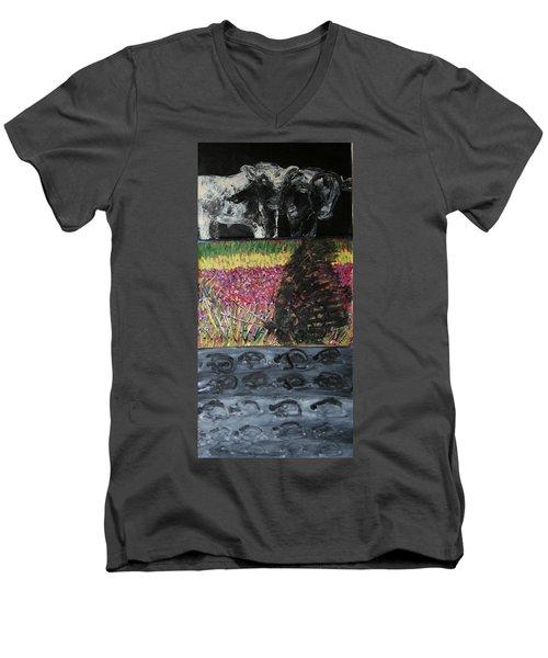The Trickle Down Effect Men's V-Neck T-Shirt