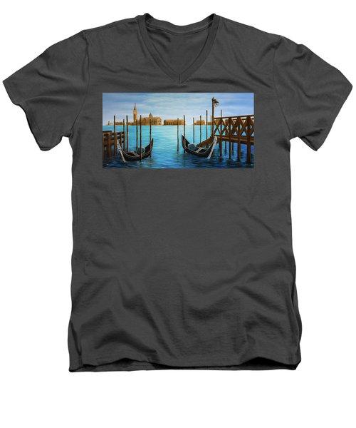 The Venetian Phoenix Men's V-Neck T-Shirt