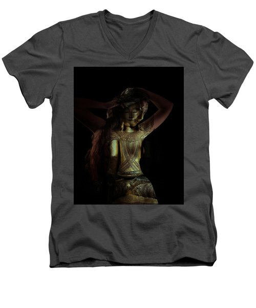The Woman Beneath Men's V-Neck T-Shirt
