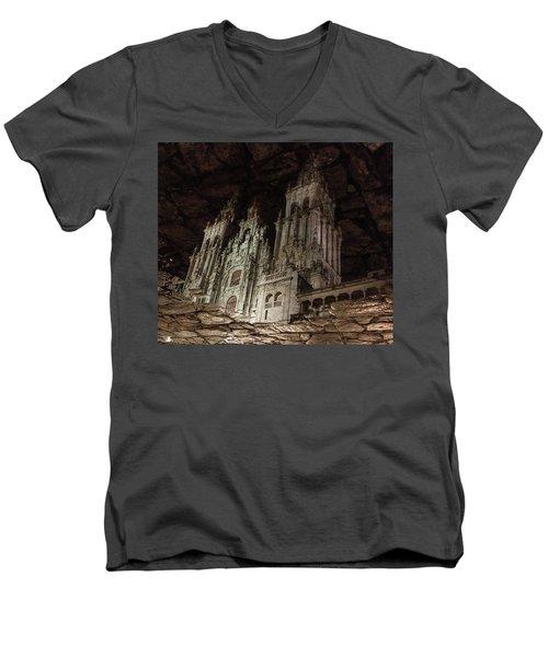 The World At Your Feet Men's V-Neck T-Shirt