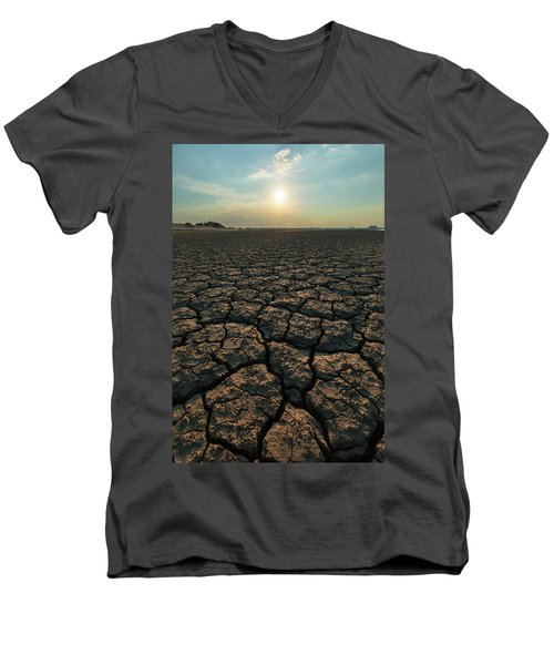 Thirsty Ground Men's V-Neck T-Shirt