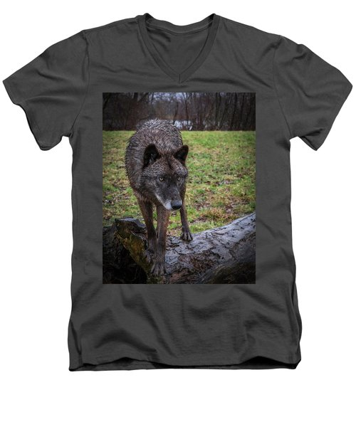 This Is My Log Men's V-Neck T-Shirt