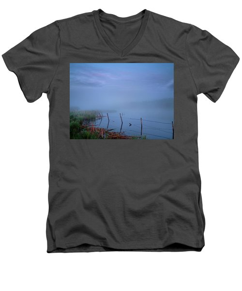 Thorhild Pond Men's V-Neck T-Shirt