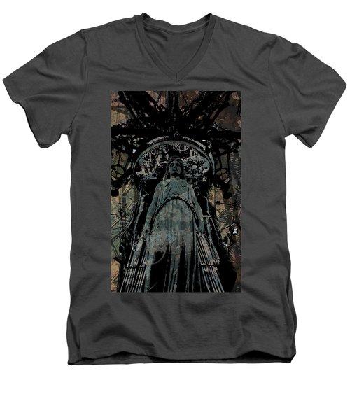 Three Caryatids Men's V-Neck T-Shirt